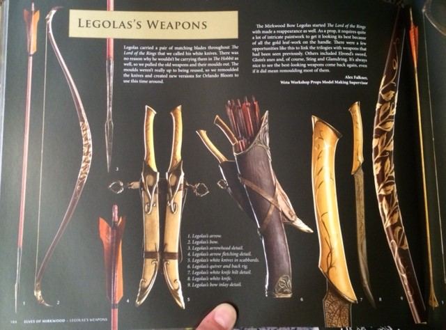 Legolas Weapons