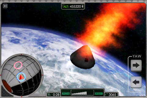 Re-Entry Apollo 11 Game