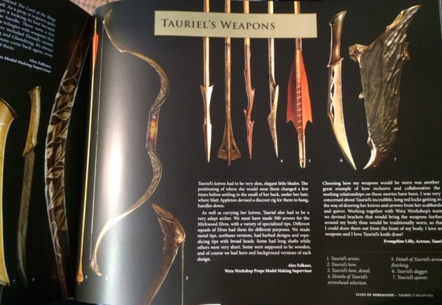 Tauriel Weapons