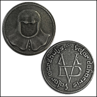 Faceless Man Coin