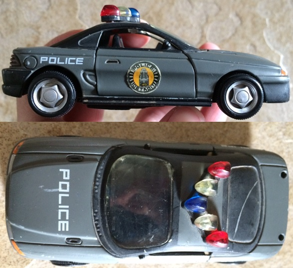 Robocop Toy Car