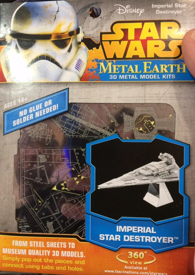 Unfolded Star Wars Model
