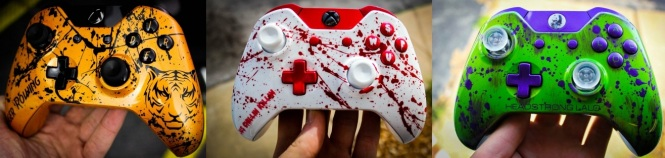 Customized Gaming Controllers