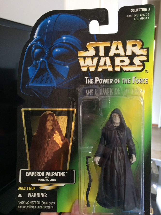 Emperor Palpatine Action Figure