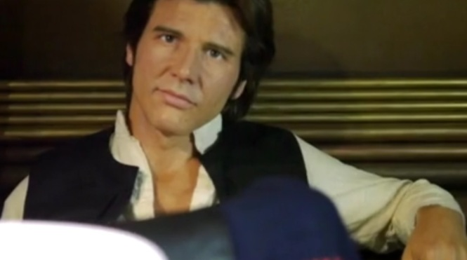 Star Wars Han Shot First