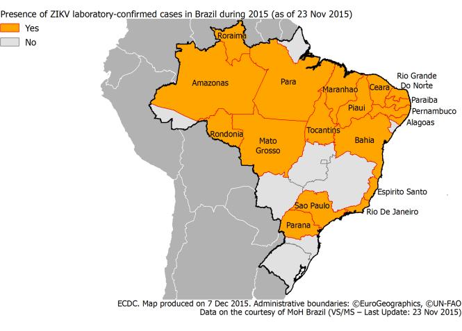 Zika cases