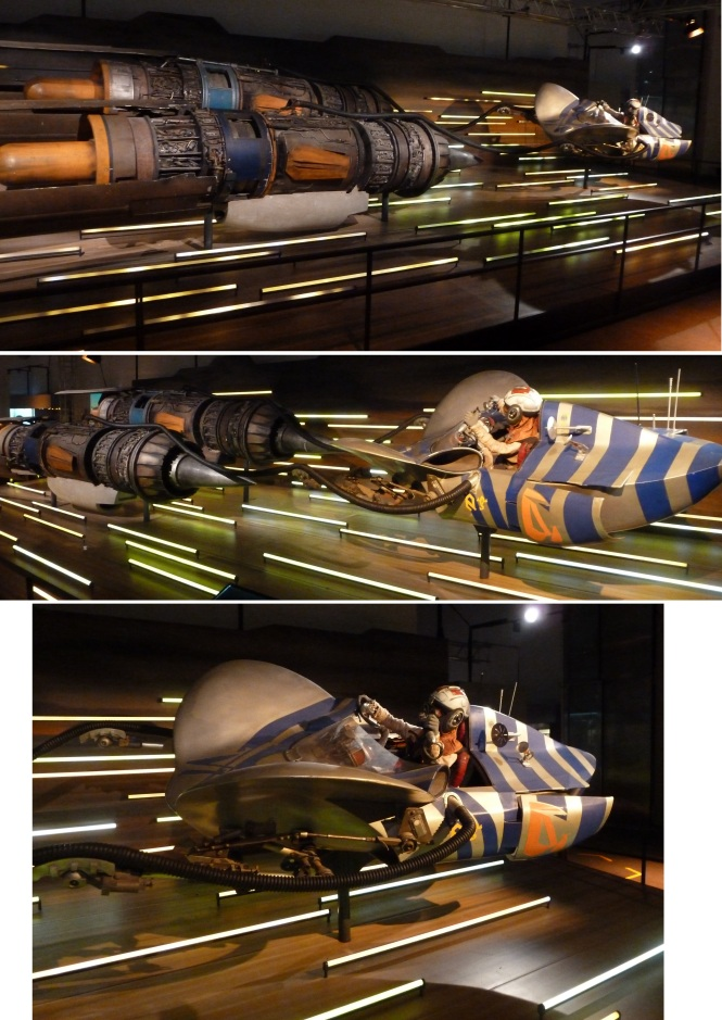 Anakin's pod from the Tatooine Pod Race