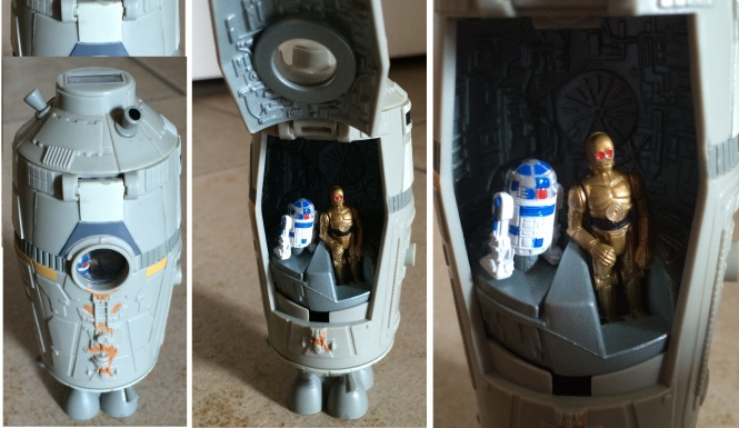Class 6 Escape Pod - R2D2 and C3PO