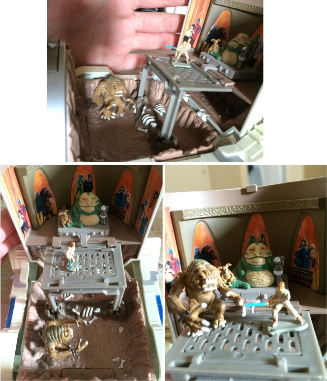 Jabbas Palace - Rancor Pit Micro Machines