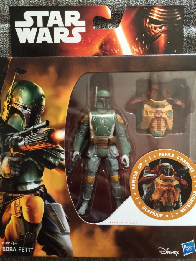 Boba Fett Disney Action Figure