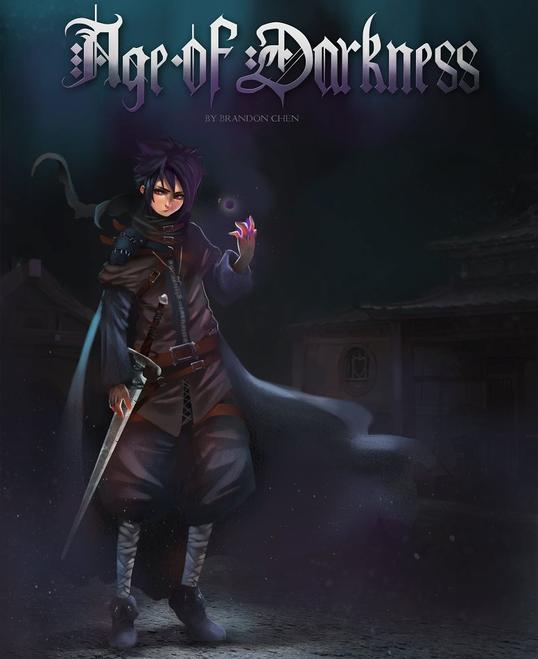 Brandon Chen Author Age of Darkness