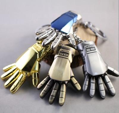 Iron Man Hand Keychain