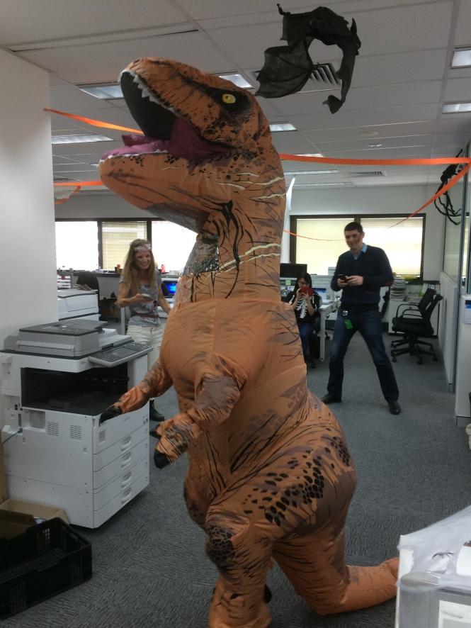 Halloween Dinosaur