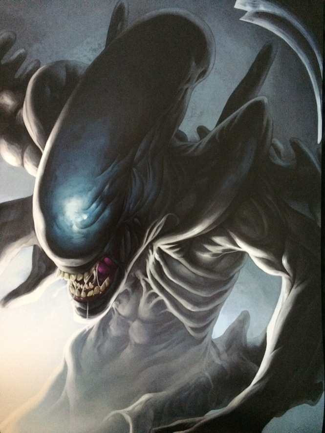 Alien Artwork